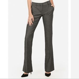 Low Rise Straight Flare Columnist Pant (Express)